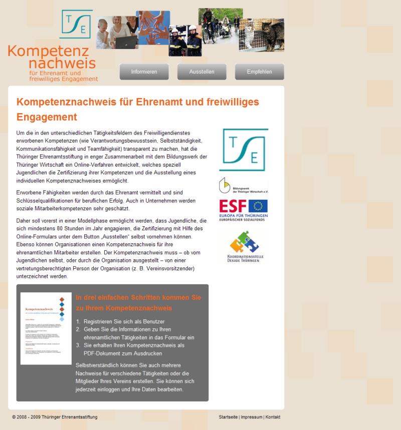 Thüringer Kompetenznachweis