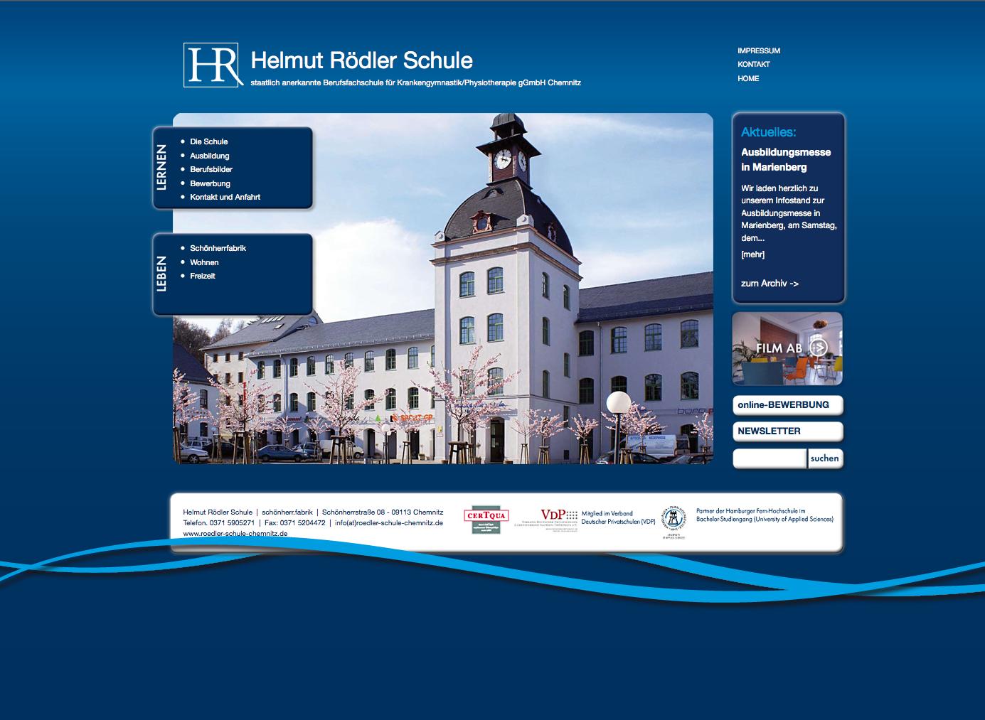 Relaunch Rödler Schule Chemnitz