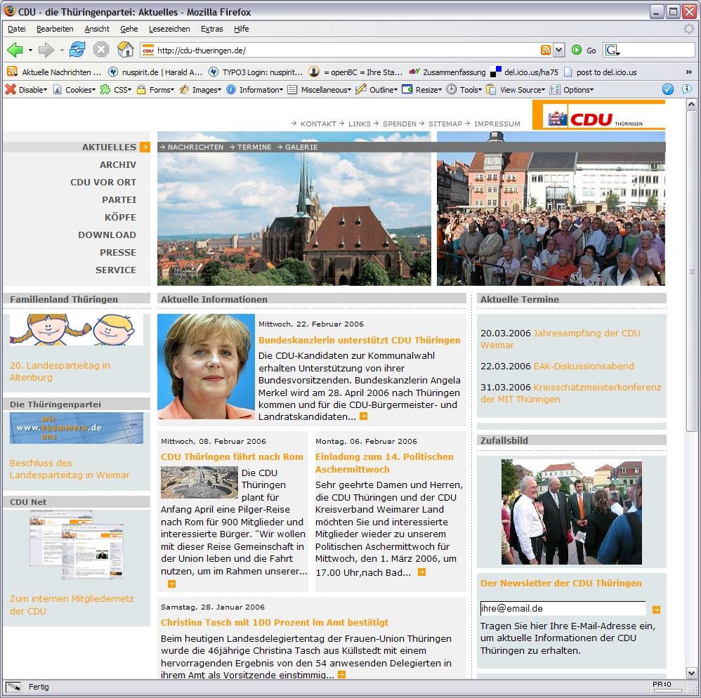 Relaunch CDU Thüringen