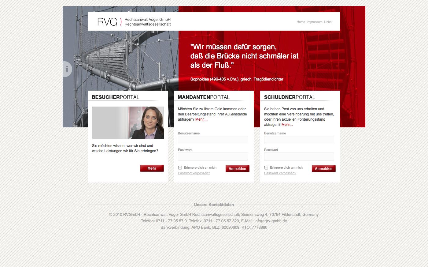 Relaunch rv-gmbh.de