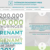 Thüringer Engagement-Preis 2014
